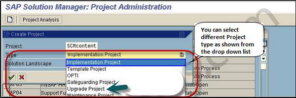 SAP Project Administration