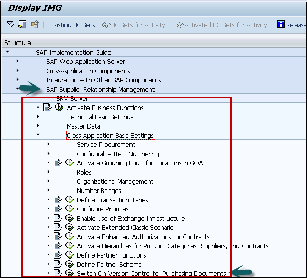 Sap Srm Contract Management