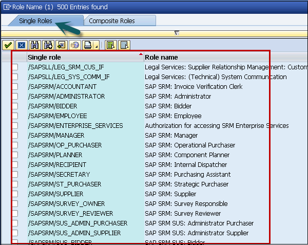 SAP SRM Security