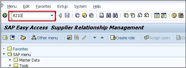 SAP SRM - Quick Guide
