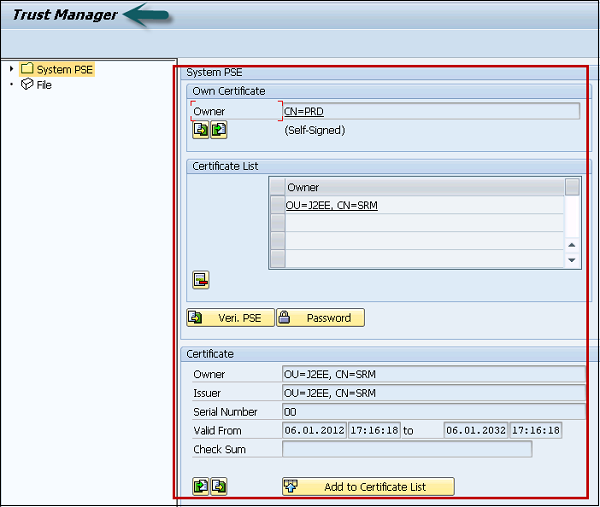 SAP SRM Configuring Single Sign-on