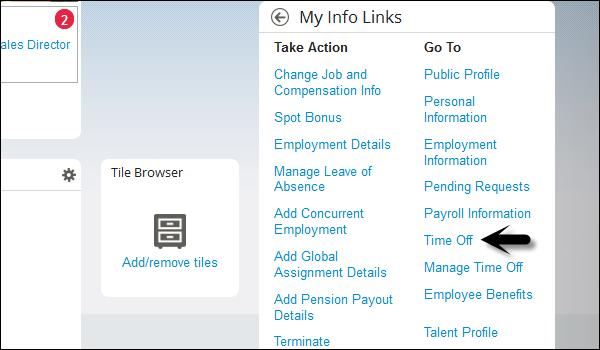 SAP SF - Employee Central Activities - Tutorialspoint