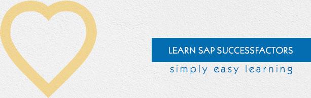 SAP SuccessFactors Tutorial - Tutorialspoint