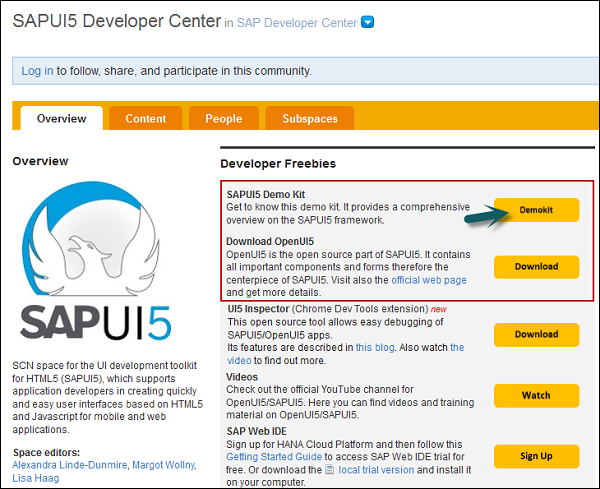 SAP UI5 Quick Guide
