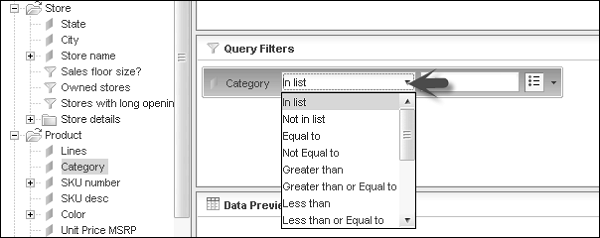 Custom Query Filters