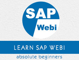 SAP Webi Tutorial