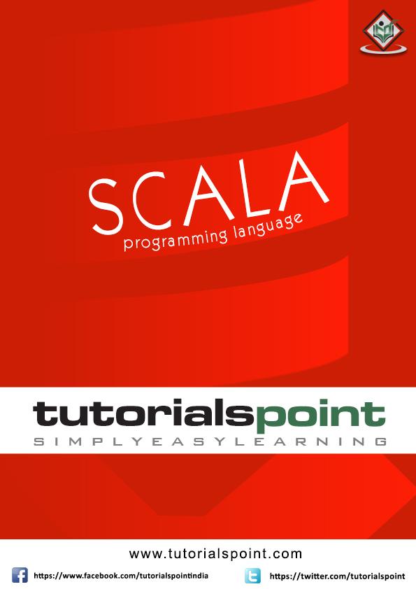 Scala Tutorial in PDF - Tutorialspoint