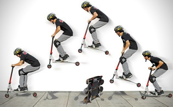 Scootering Pogo