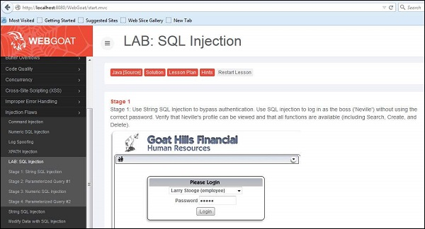 guide to sql injection How to fix sql injection using java preparedstatement & callablestatement the underlying database code could be vulnerable refer to the database code section of this guide to see how to write secure database code authors priya gnanasundar how to guide preparedstatement callablestatement.