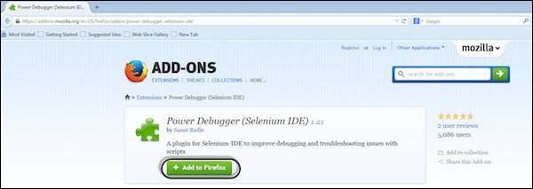 Selenium IDE 16