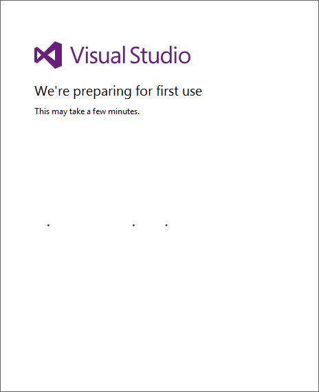 Preparing Visual Studio
