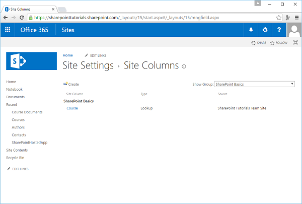 SharePoint Basics Group