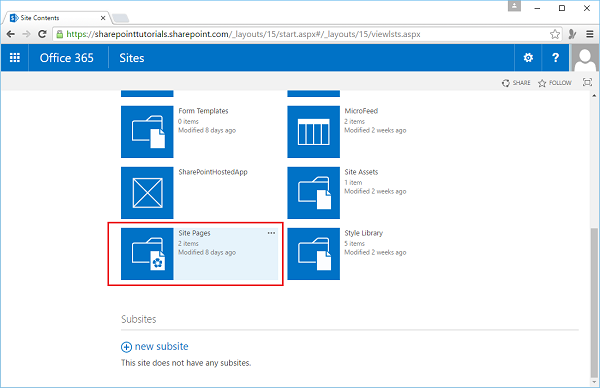 SharePoint - Web Part