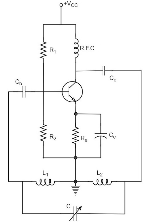 Hartley Oscillator Electronic in 2019 t Circuit Electronics