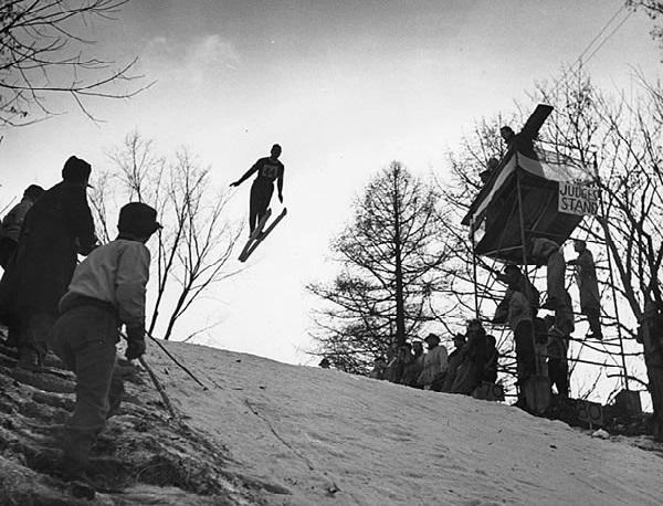 History Ski Jumping