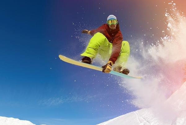 Ski Jumping Springing