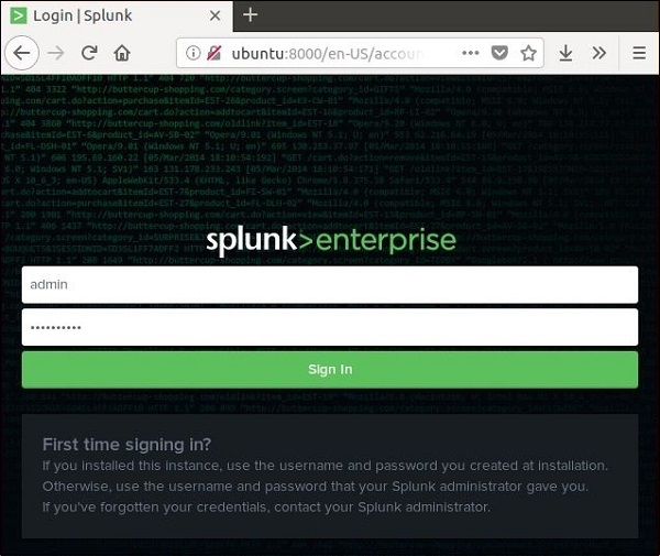 Splunk - Quick Guide
