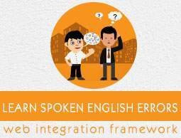 Spoken English Errors Tutorial