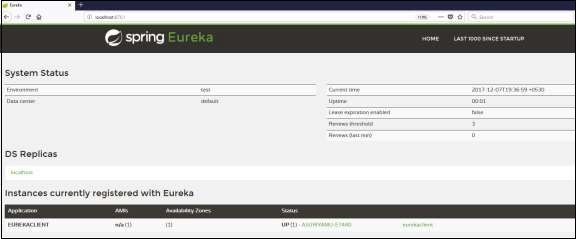 Eureka Client Application