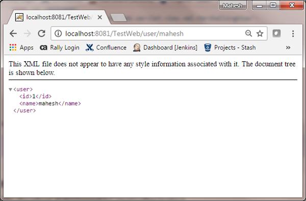 Spring MVC - Generate XML Example - Tutorialspoint