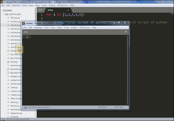 Sublime Text - Quick Guide