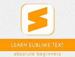 Sublime Text Tutorial