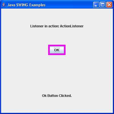 SWING ActionListener