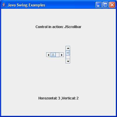 how to add scrollbar to jpanel in java swing
