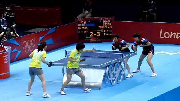 Doubles Table Tennis