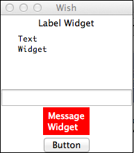 Basic Widgets Example