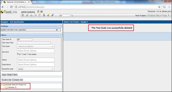 TestLink - Quick Guide - Tutorialspoint