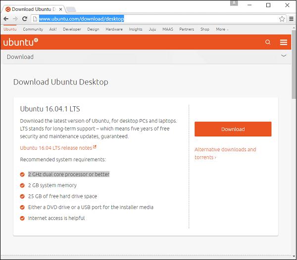 Ubuntu - Environment