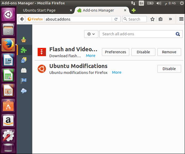 Installed flash and Video