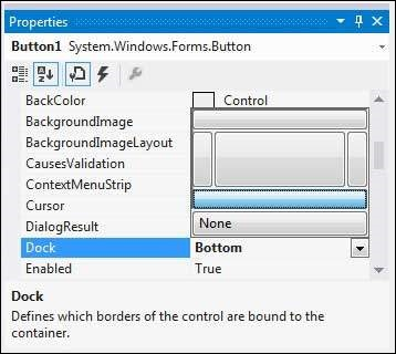 VB.Net Docking of Controls