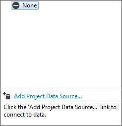 Add Project Data Source Link