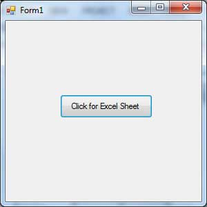 VB.Net Excel Example