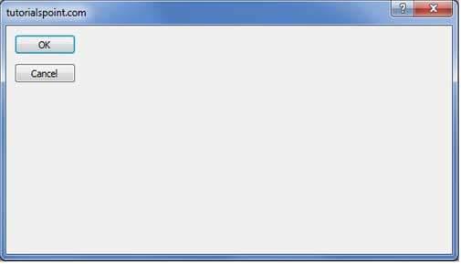 VB Net - Forms - Tutorialspoint