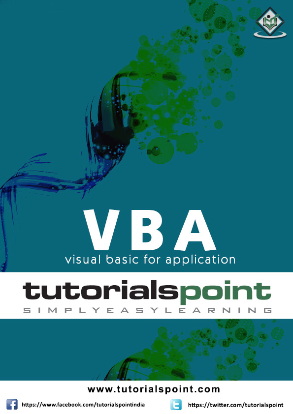 VBA Tutorial in PDF
