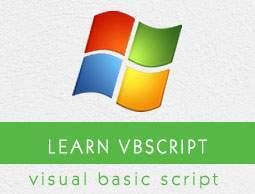 Vbscript Tutorial Pdf