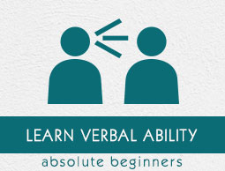 Verbal Ability Tutorial