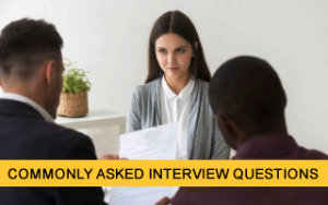 Commonly Asked Interview Questions Image