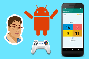 Android Game Development : Build a Math based Game Image