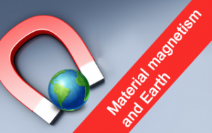 Material magnetism and Earth Image