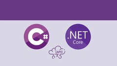 ASP.NET CORE and C# REST API With Real World Projects Image