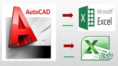 AutoCAD to Excel - VBA Programming Hands-On! Image