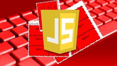 JavaScript Word Scramble Game from scratch course Image