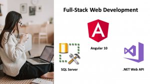 Full-Stack Web Development using Angular 10, Web API & SQL Server Image