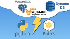 RDS PostgreSQL and DynamoDB CRUD: AWS with Python and Boto3 Image