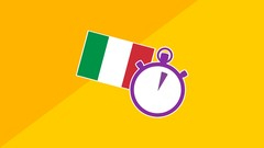3 Minute Italian - Course 4 | Language lessons for beginners Image