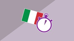 3 Minute Italian - Course 6 | Language lessons for beginners Image
